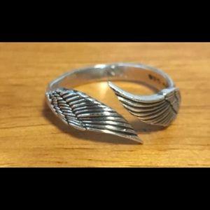Harley Davidson 925 Sterling Adjustable Ring